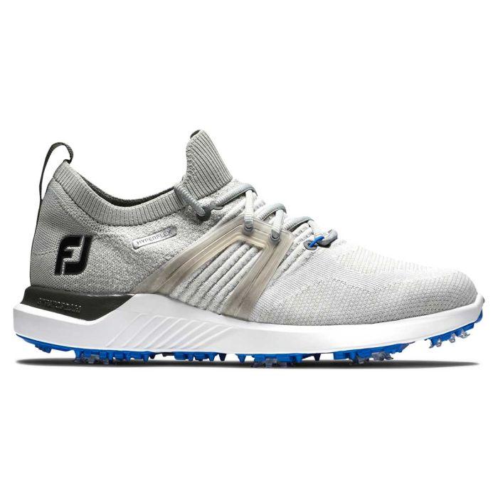 FootJoy HyperFlex Golf Shoes Grey/White/Blue