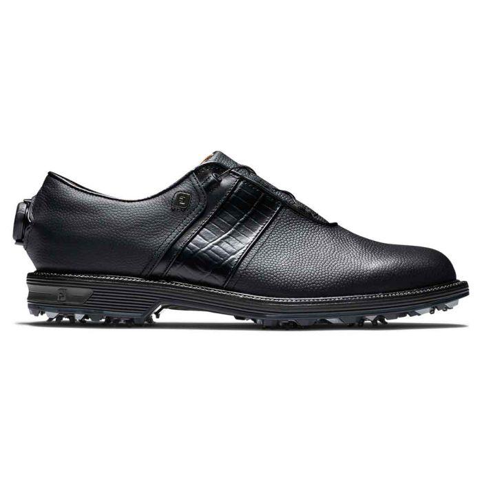 FootJoy Premiere Series Packard BOA Golf Shoes Black/Black