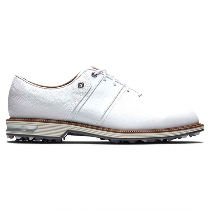 FootJoy Premiere Series Packard Golf Shoes White/White