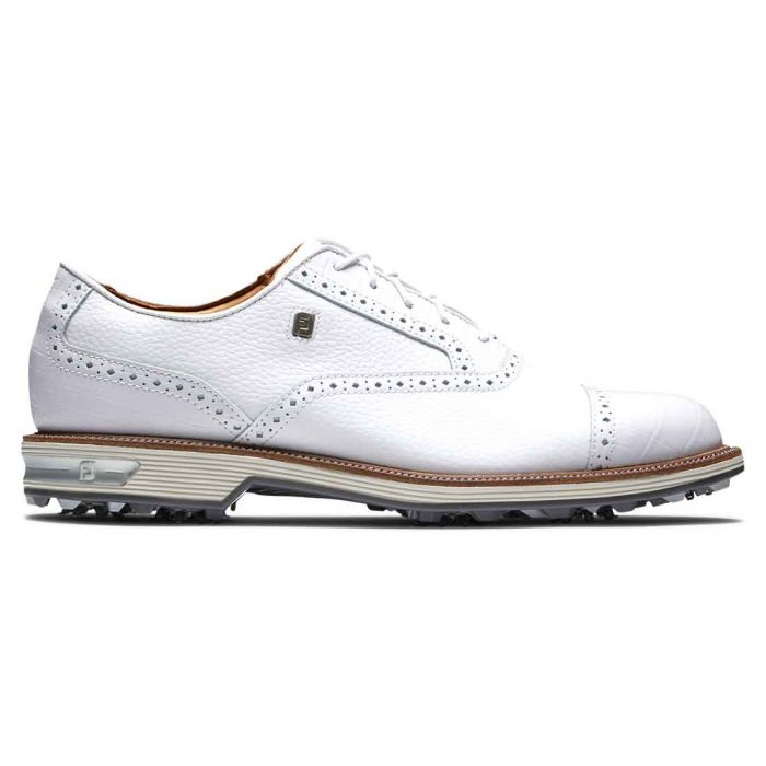 FootJoy Premiere Series Tarlow Golf Shoes White/White