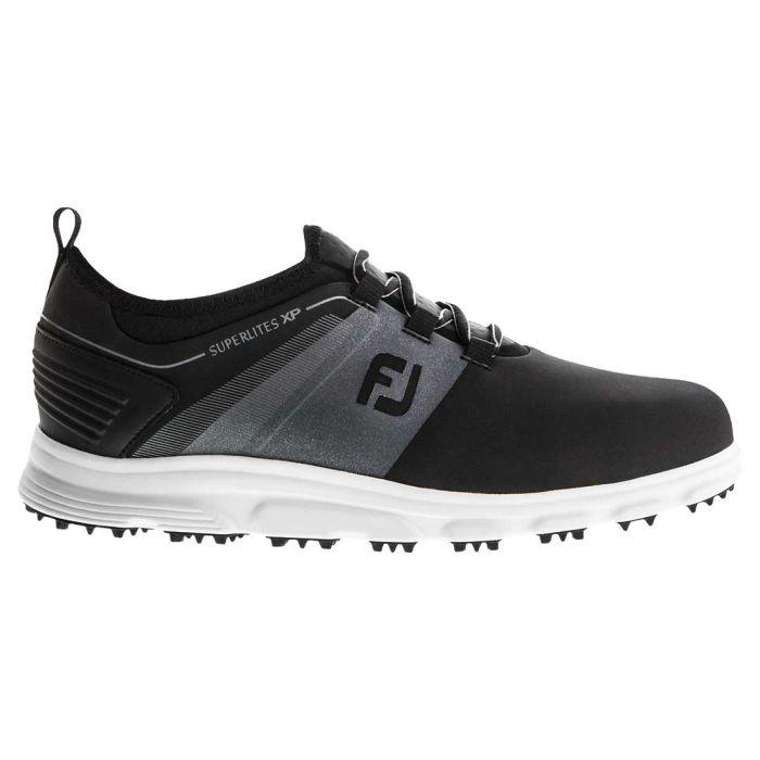 FootJoy Superlites XP Golf Shoes Black/Grey