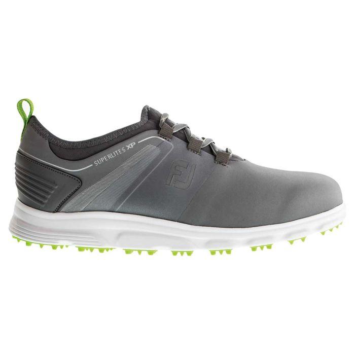 FootJoy Superlites XP Golf Shoes Grey/Lime