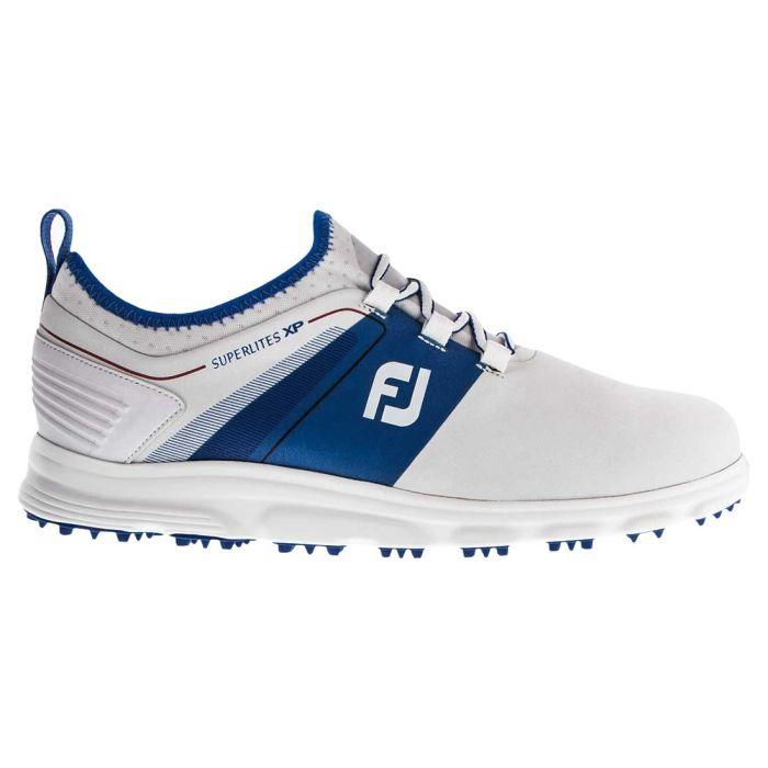 FootJoy Superlites XP Golf Shoes White/Blue