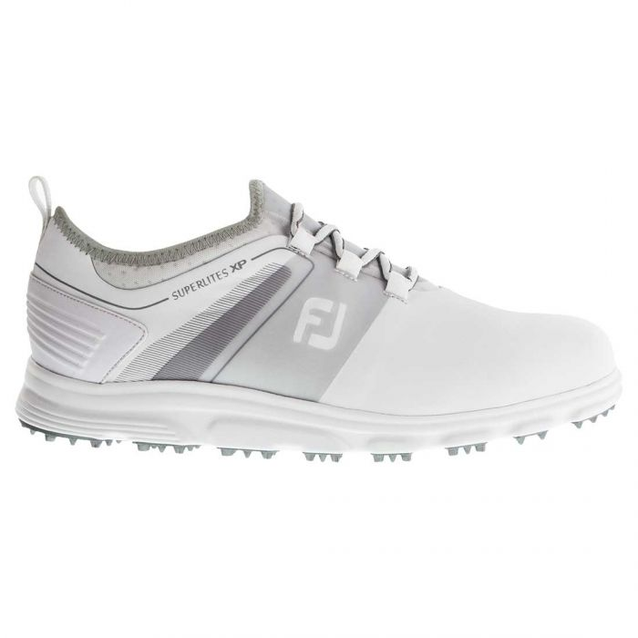 FootJoy Superlites XP Golf Shoes White/Grey