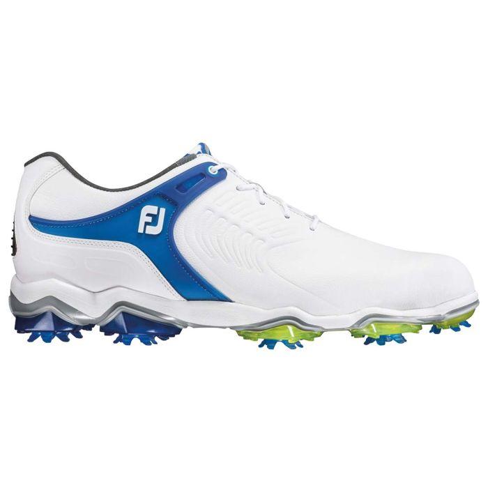 FootJoy Tour-S Golf Shoes White/Blue/Lime