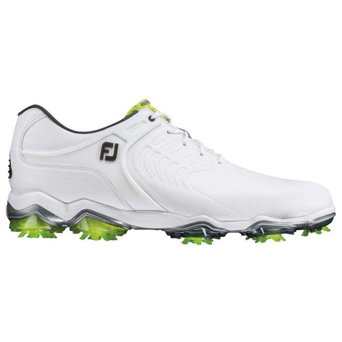 FootJoy Tour-S Golf Shoes White/Lime