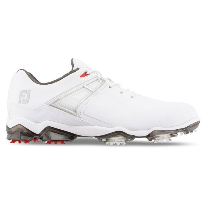 FootJoy Tour X Golf Shoes White/Red