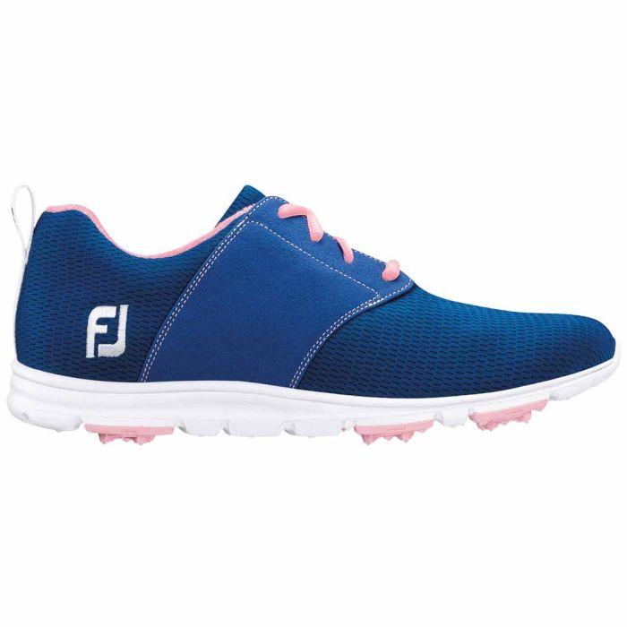 FootJoy Women's enJoy Golf Shoes Blue/Pink