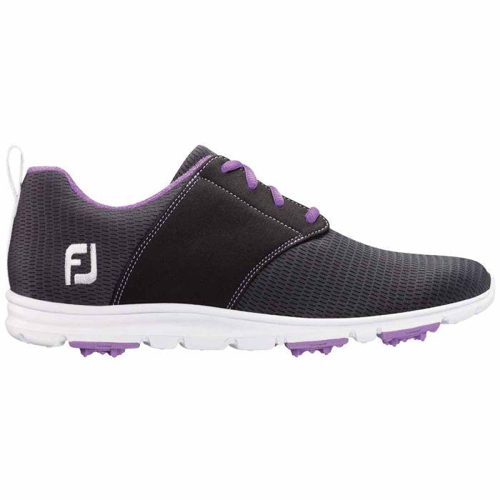 FootJoy Women's enJoy Golf Shoes Charcoal/Violet