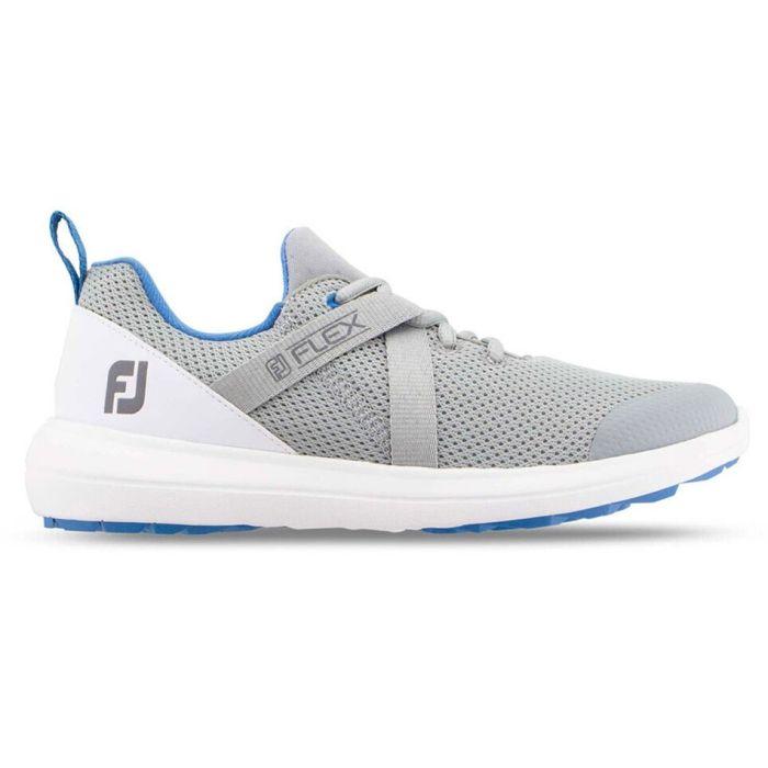 FootJoy Women's FJ Flex Golf Shoes Grey/Blue