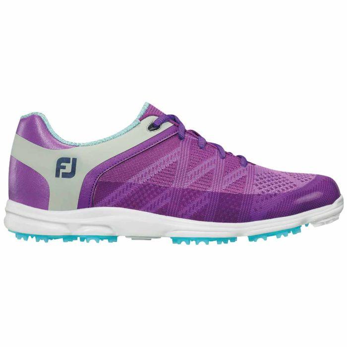 FootJoy Women's Sport SL Golf Shoes Purple/Light Grey