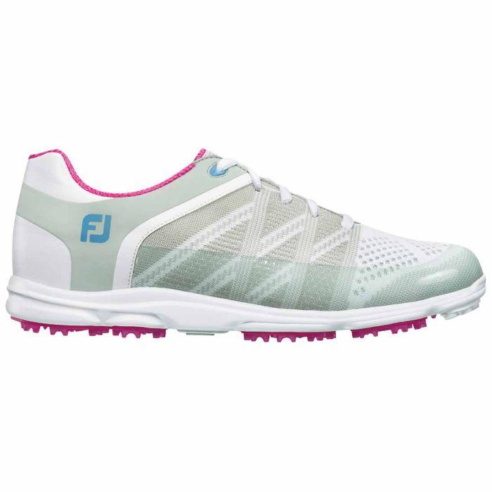 FootJoy Women's Sport SL Golf Shoes White/Light Grey