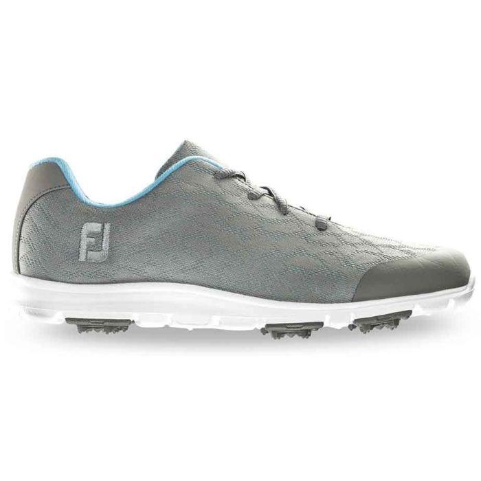FootJoy Women's enJoy Golf Shoes Grey/Light Blue