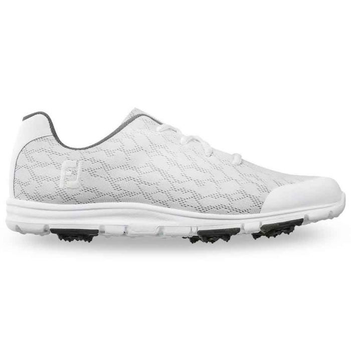 FootJoy Women's enJoy Golf Shoes White/Grey