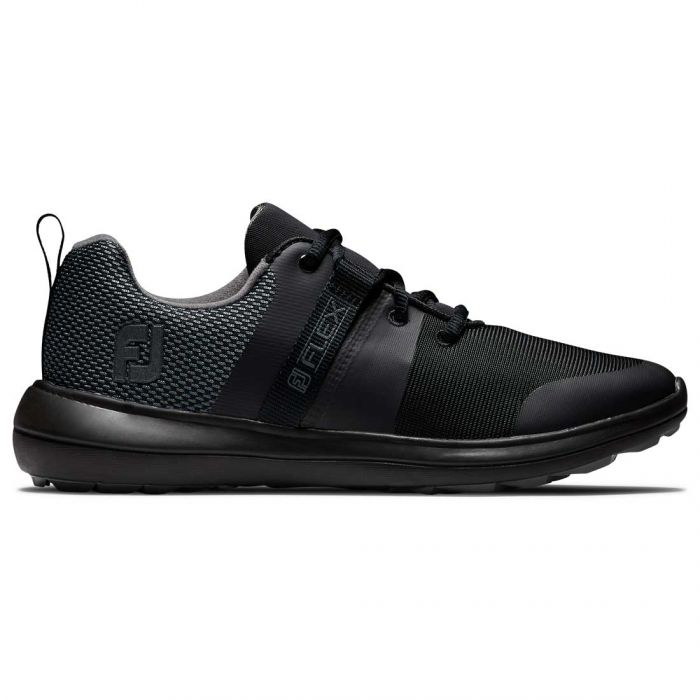 FootJoy Women's Flex Golf Shoes Black/Charcoal