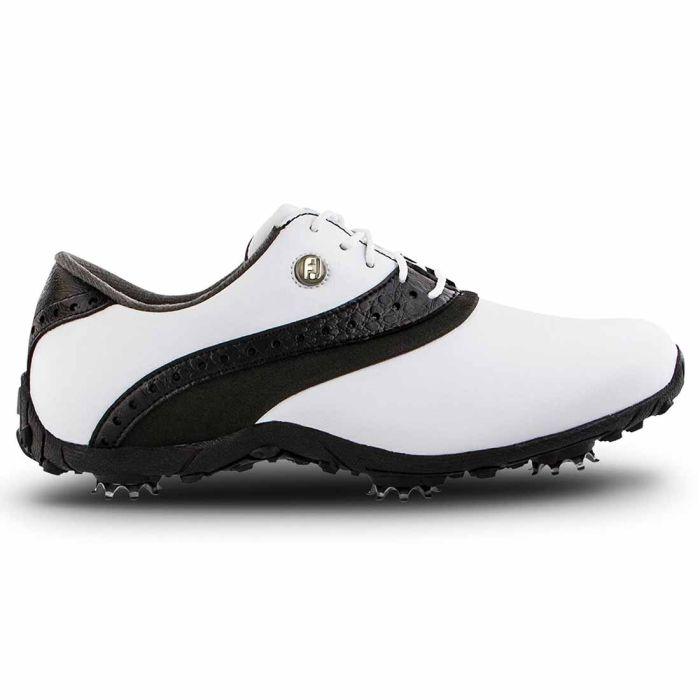 FootJoy Women's LoPro Golf Shoes White/Black