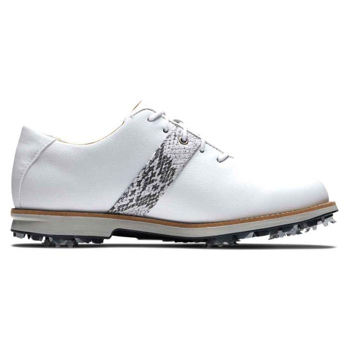 FootJoy Women's Premiere Series Golf Shoes White/Snake