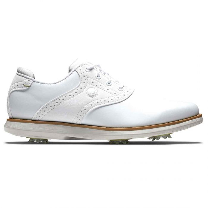 FootJoy Women's Traditions Golf Shoes White