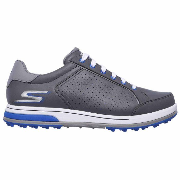 Skechers GO GOLF Drive 2-RF Golf Shoes Charcoal/Blue