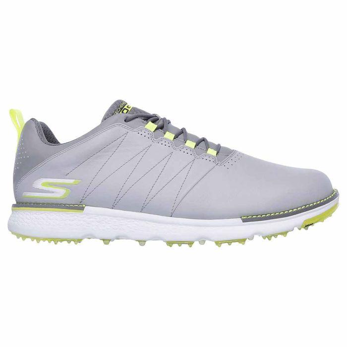 Skechers GO GOLF Elite V.3 Golf Shoes Grey/Lime