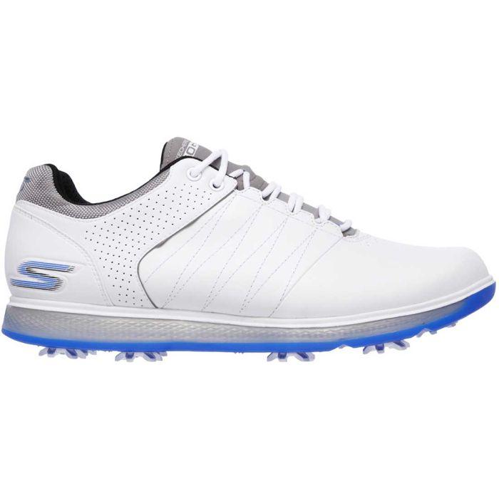 Skechers GO GOLF Pro 2 Golf Shoes White/Blue
