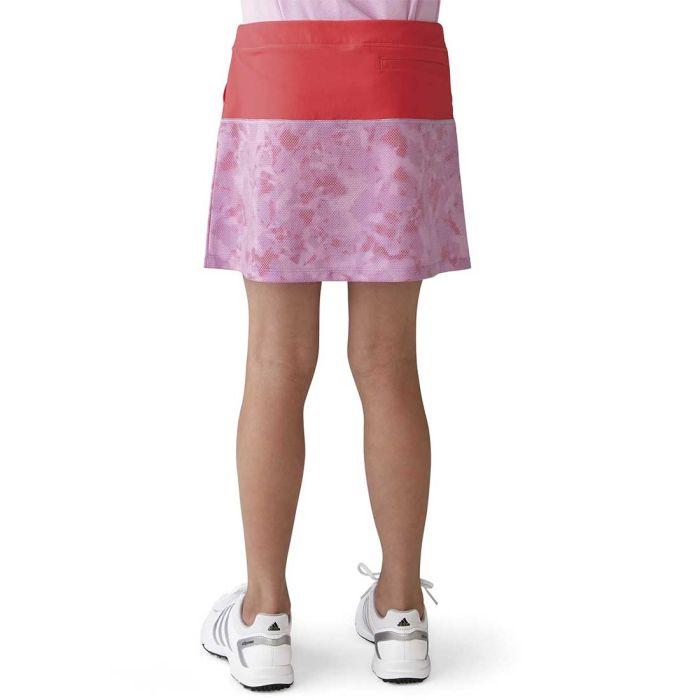 Adidas Girls Tour Mixed Print Pull-On Skort