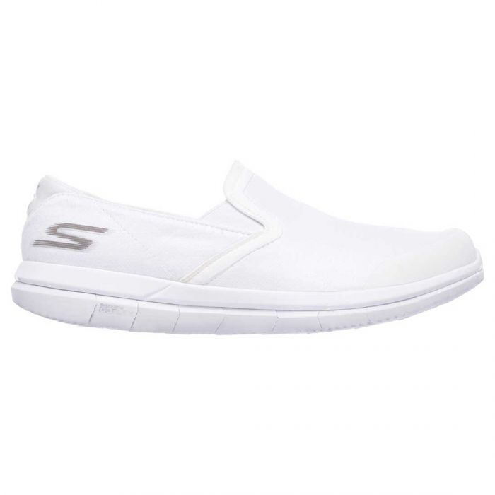 Skechers GO FLEX Executive Shoes White