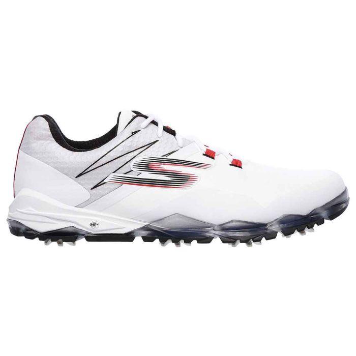Skechers GO GOLF Focus Golf Shoes White/Black/Red