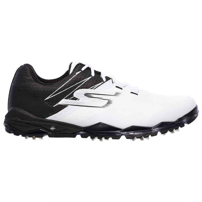 Skechers GO GOLF Focus Collegiate Golf Shoes White/Black
