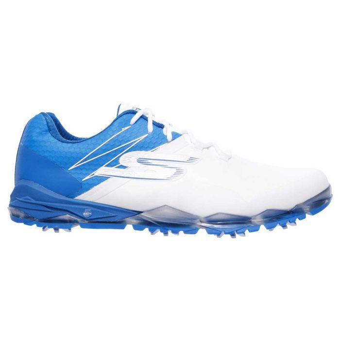 Skechers GO GOLF Focus Collegiate Golf Shoes White/Blue