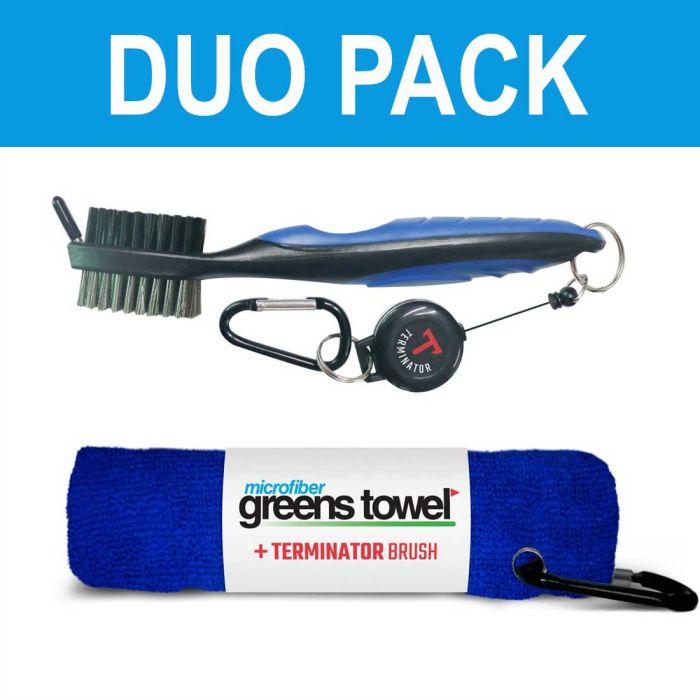 Clip Wipes Greens Towel Plus Terminator Brush