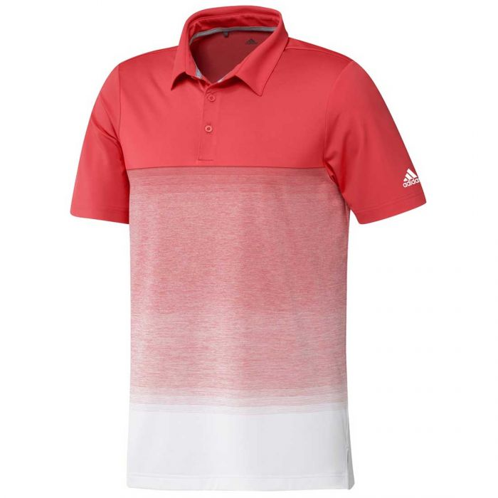Adidas SS20 Ultimate365 Fade Stripe OC Polo