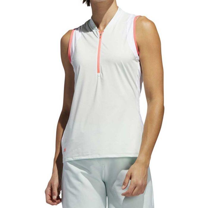 Adidas SS20 Women's Colorblock Sleeveless Polo