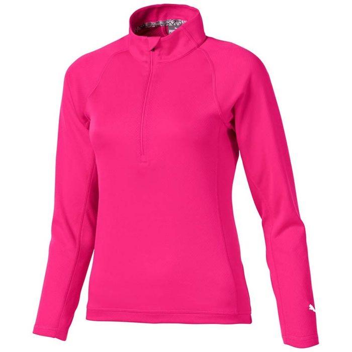 Puma Girls Quarter Zip Pullover