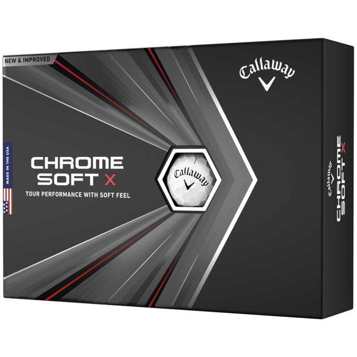 Callaway Chrome Soft X Personalized Golf Balls