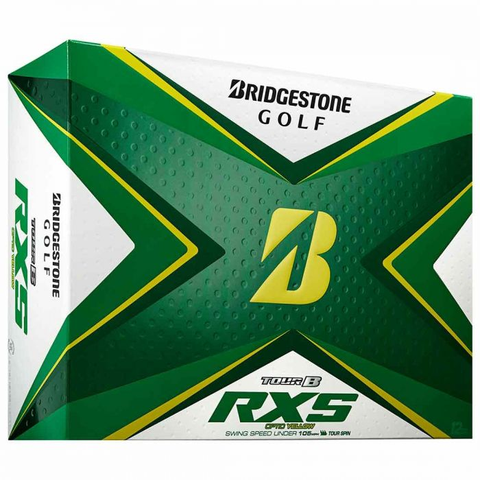 Bridgestone Tour B RXS Yellow Golf Balls
