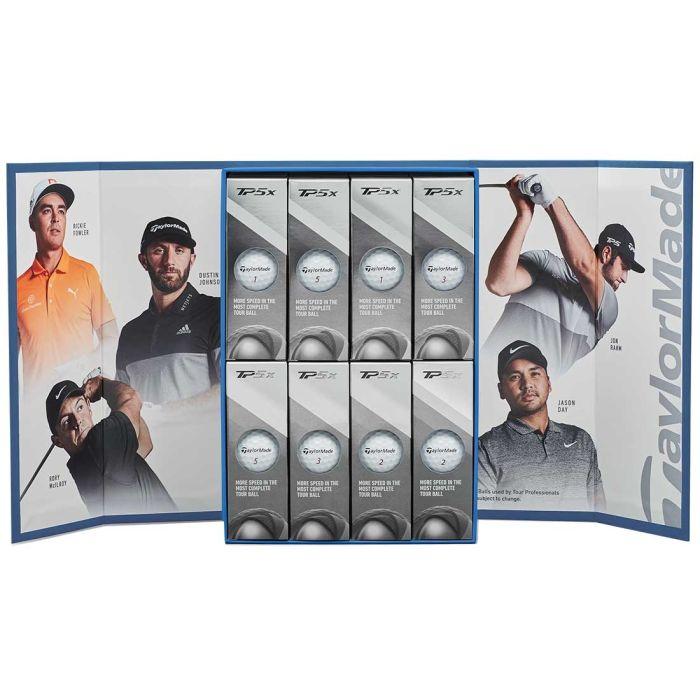 TaylorMade 2019 TP5x Player Pack Golf Balls (4 Dozen)