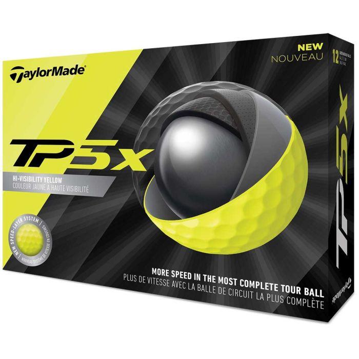 TaylorMade 2019 TP5x Yellow Golf Balls