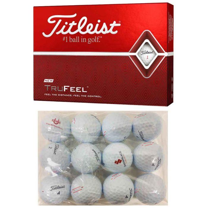 Titleist TruFeel Logo Overrun Bagged Golf Balls