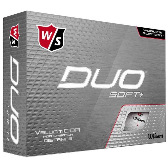 Wilson Staff DUO Soft+ Personalized Golf Balls