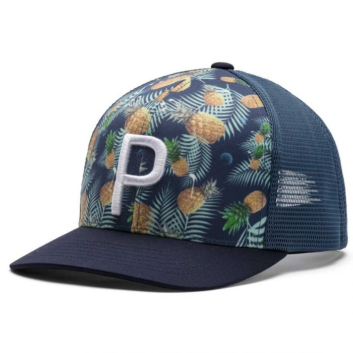 Puma P 110 Pineapple Trucker Hat