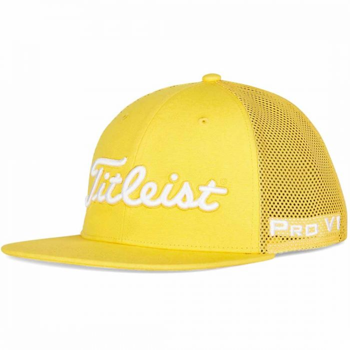 Titleist Tour Flat Bill Mesh Trend Hat