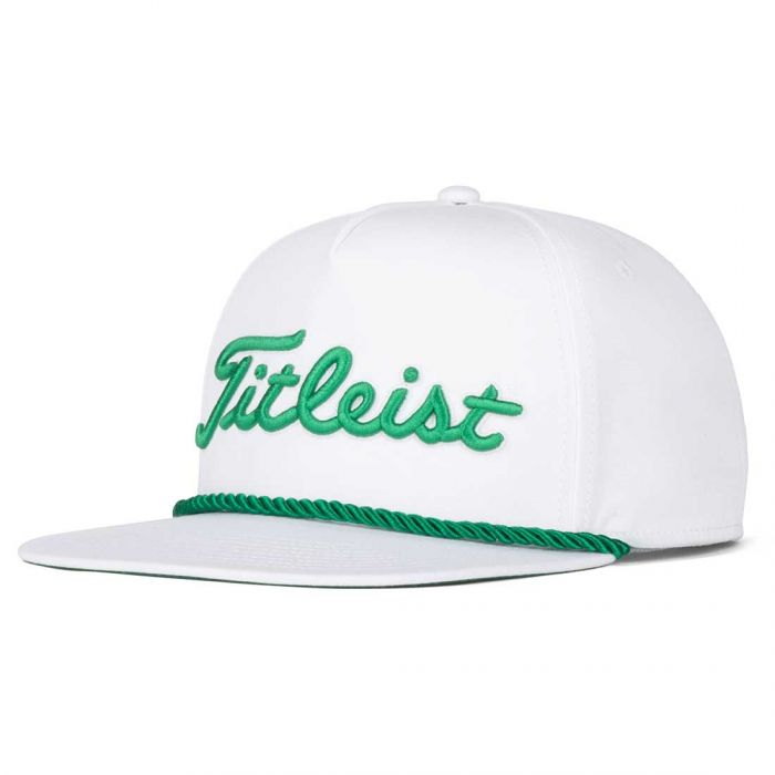 Titleist St. Patty's Tour Rope Flat Bill Hat