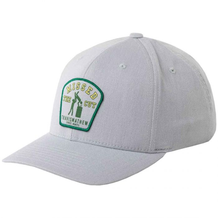 TravisMathew Green Glory Snapback Hat