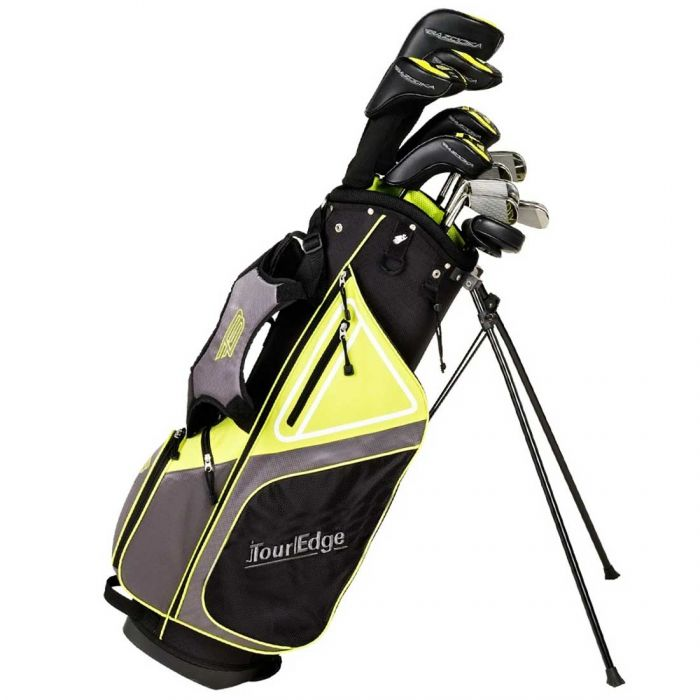 Tour Edge Bazooka 470 Black Complete Set w/ Stand Bag