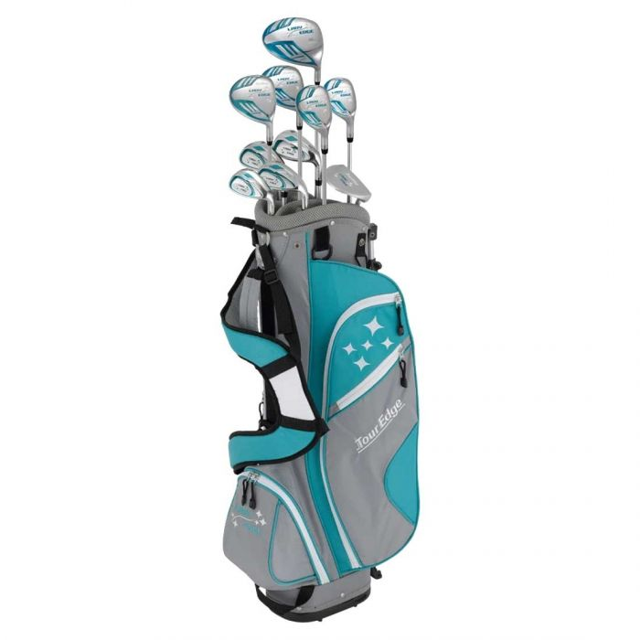 Tour Edge Women's Lady Edge Complete Set w/ Stand Bag