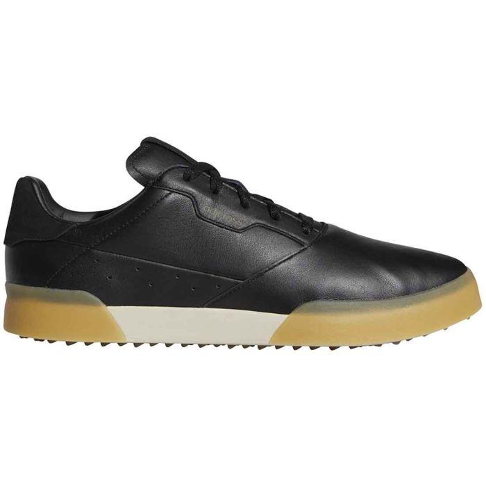 Adidas Adicross Retro Golf Shoes Black/Gold