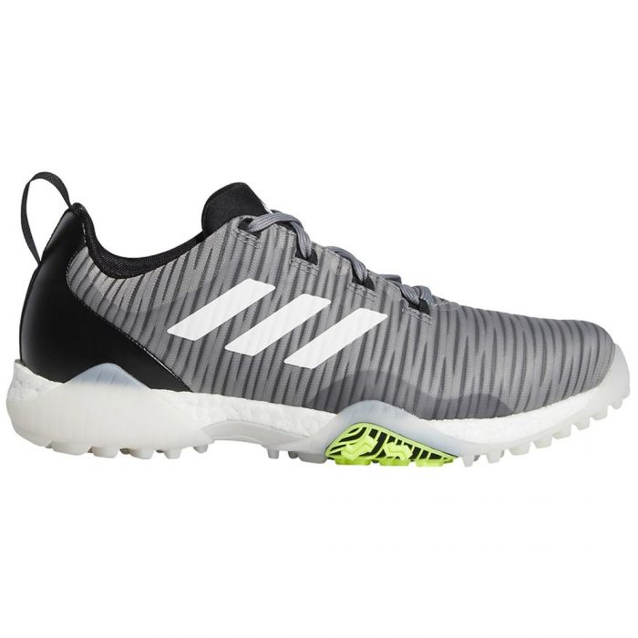 Adidas Codechaos Golf Shoes Grey Three/White/Signal Green