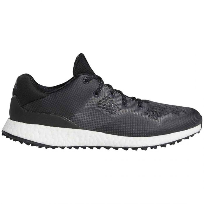 Adidas Crossknit DPR Golf Shoes Black/White