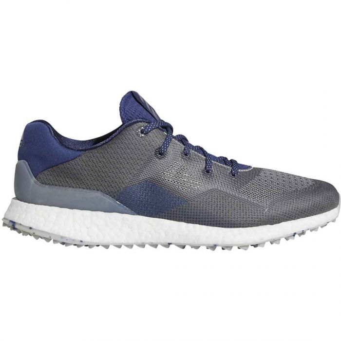 Adidas Crossknit DPR Golf Shoes Metal Grey/Grey Three